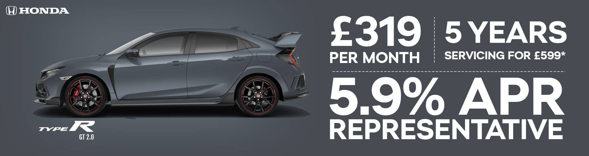 Type R GT 2.0 New Car Offer
