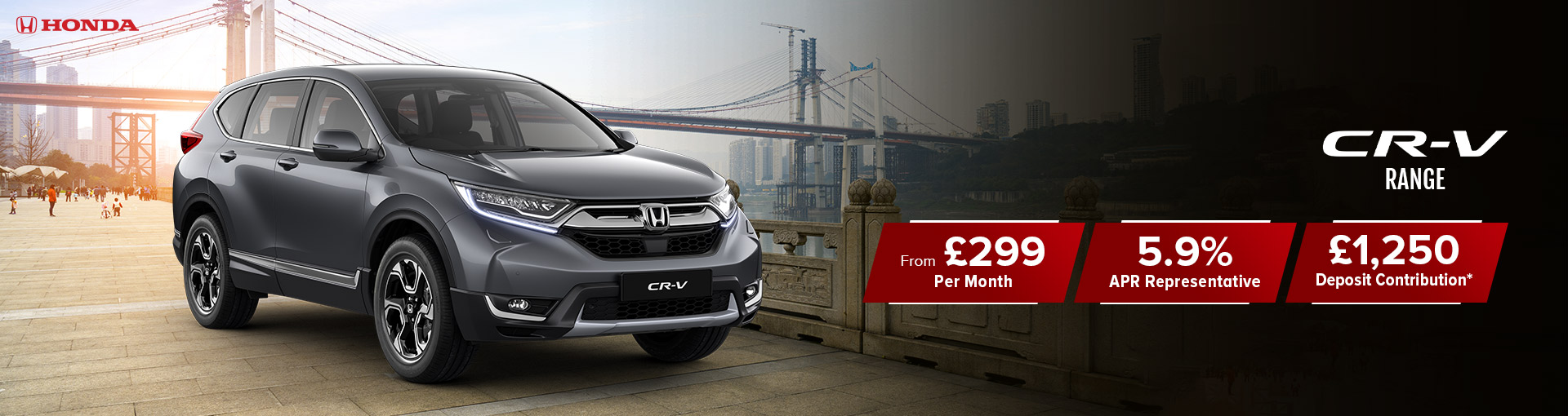 CR-V SR 1.5 VTEC Turbo New Car Offer