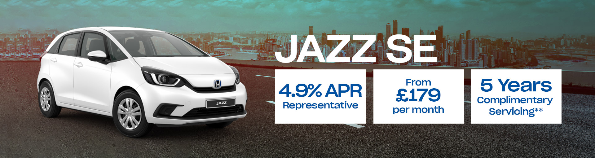 Jazz EX NAVI New Car Offer